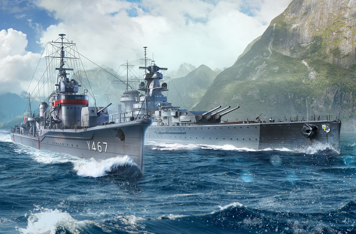 Coming Soon - World of Warships and