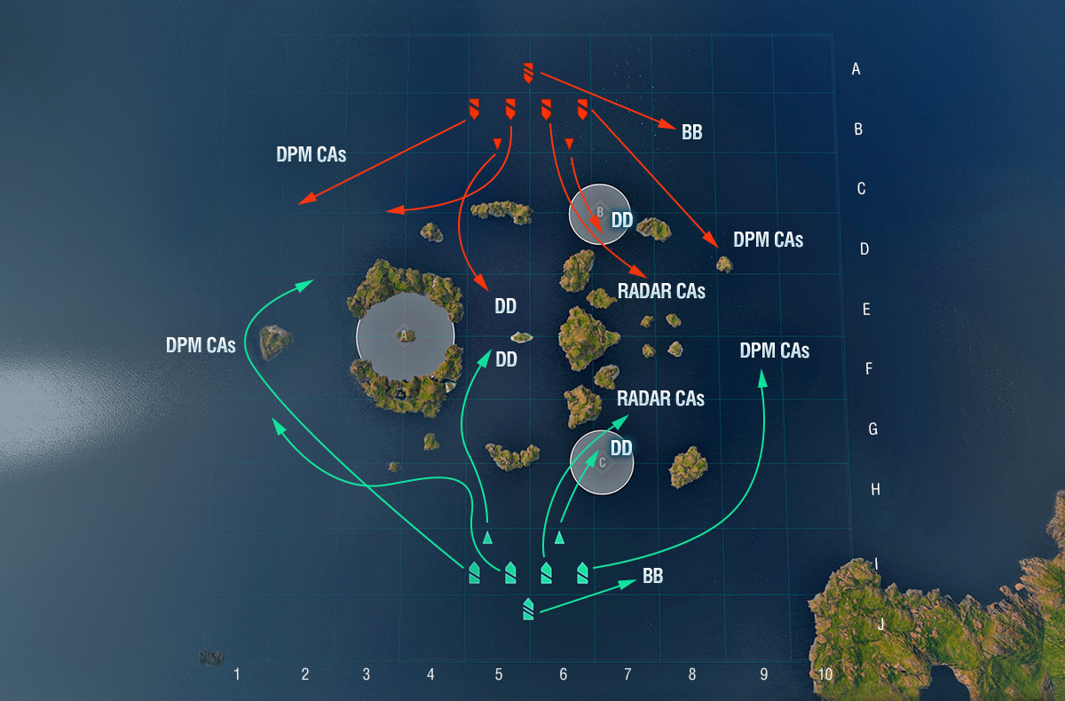 Play Like a Pro: Map Tactics | World of Warships