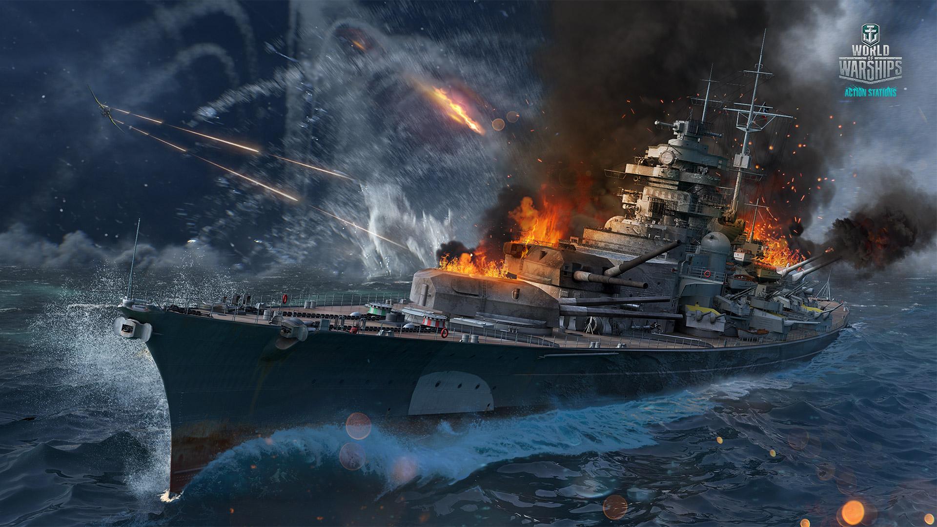 Grand Naval Battles: The Sinking of Bismarck   World of Warships