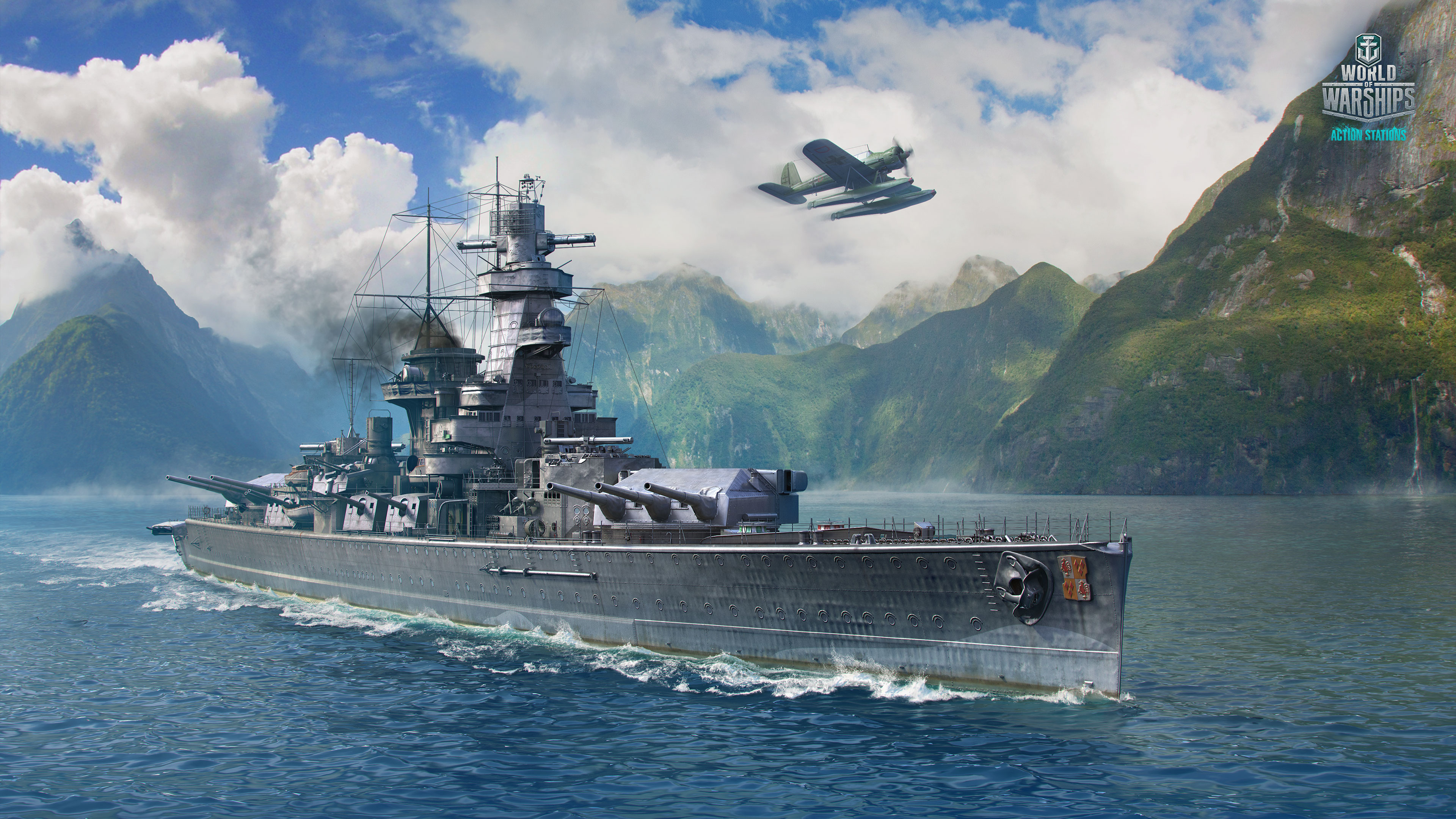 This Month A New German Cruiser Is The Focus Of Artwork