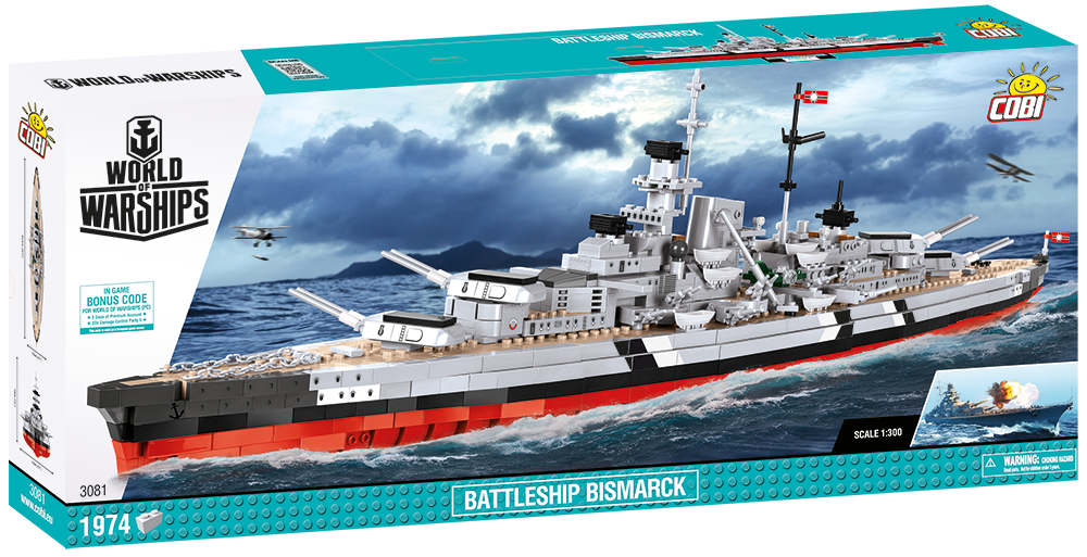 Cobi Bismarck, available now! | World of Warships