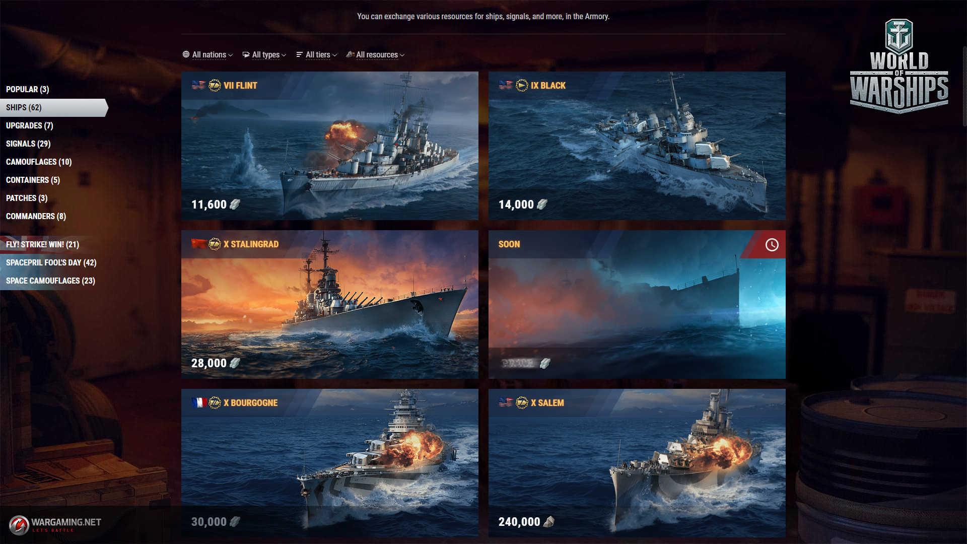 Update 0 8 2: From Britain to the Moon   World of Warships