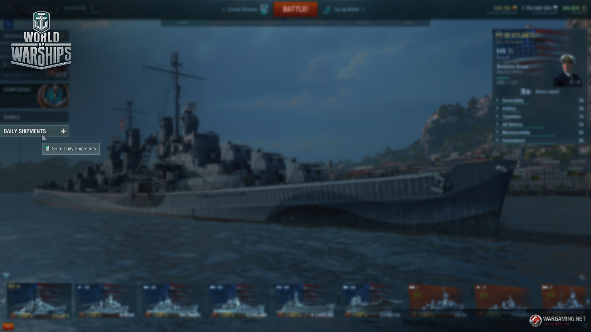 matchmaking wows