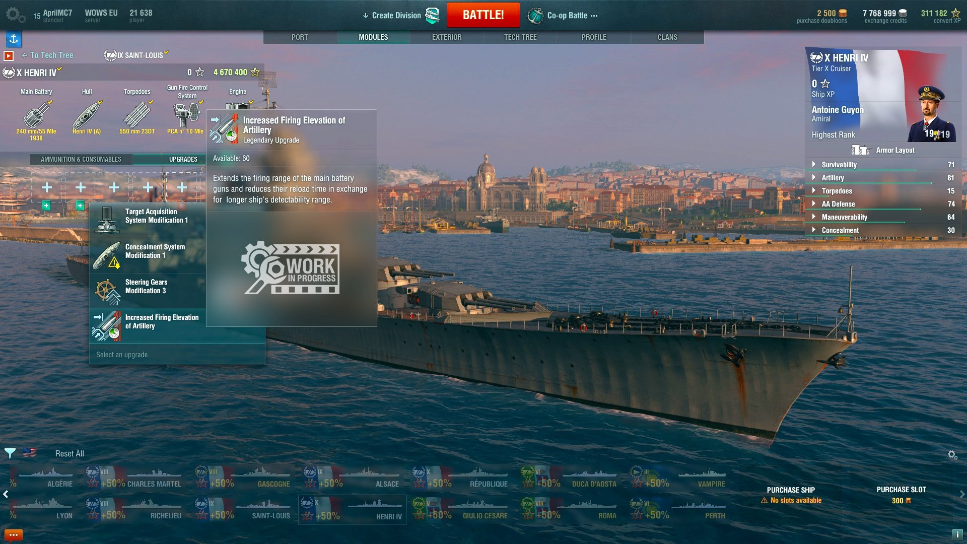 Faster, Stronger, Tougher: New Upgrades   World of Warships
