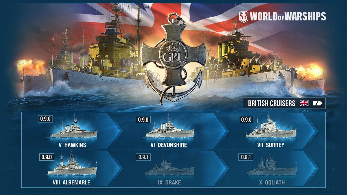 British Cruisers Early Access World Of Warships